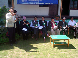Opening Ceremony of free Camp